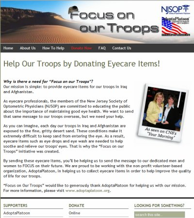 Recently Launched: Focus on our Troops