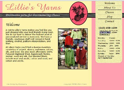 Lillies Yarns